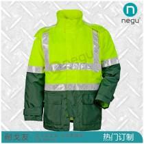NE12661 晶格高亮防水风衣