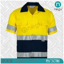 NE13261 全棉短袖衬衫